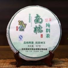 2010, Наньношань, 357 г/блин, шэн, ч/ф Чашуван
