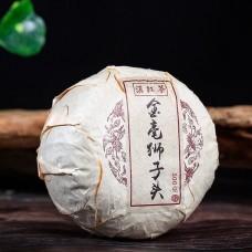 2017, Золотая шерсть Льва, 500 г/точа, красный чай, Пучживэй (компания Хундэ)