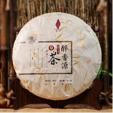 2017, Пьянящий аромат, 357 г/блин, шу, Пучживэй (компания Хундэ)