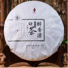 2017, Пьянящий аромат, 357 г/блин, шэн, Пучживэй (компания Хундэ)