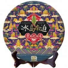2018, дер. Наньпочжай (Биндао), 357 г/блин, шэн, Пучживэй (компания Хундэ)