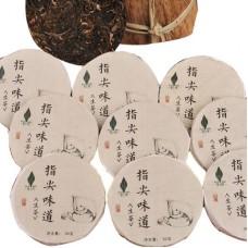 2017, Прикосновение нежных пальцев (10*30г), 300 г/упаковка, шэн, Пучживэй (компания Хундэ)