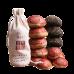 2017, Красная печать (5*100г), 500 г/упаковка, шэн, Шудайцзы