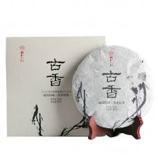 2014, Аромат древности (выставочный вариант), 357 г/блин, шэн, Шудайцзы