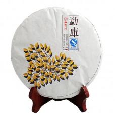 "2014, Мэнку, серия ""Гухуа"" (""светлый лист""), 357 г/блин, шэн, Шудайцзы"