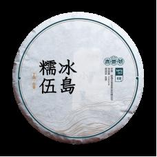 2017, дер. Ноу (糯伍), уезд Биндао, 200 г/блин, шэн, ч/ф Цзипу Хао