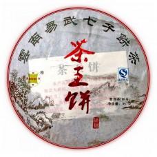 2015, Чайный император, 357 г/блин, шу, ч/ф Сыю